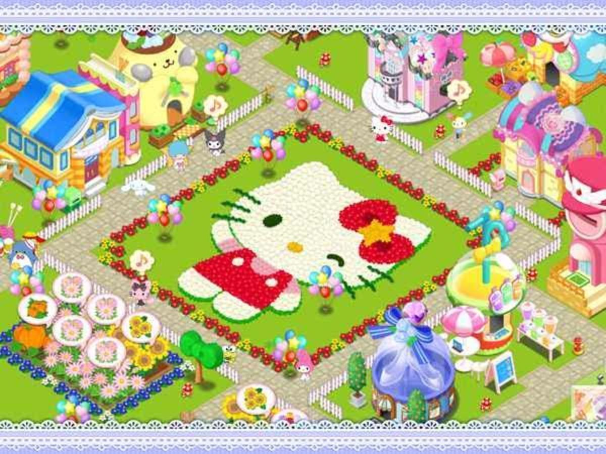 HELLO KITTY KAWAII TOWN