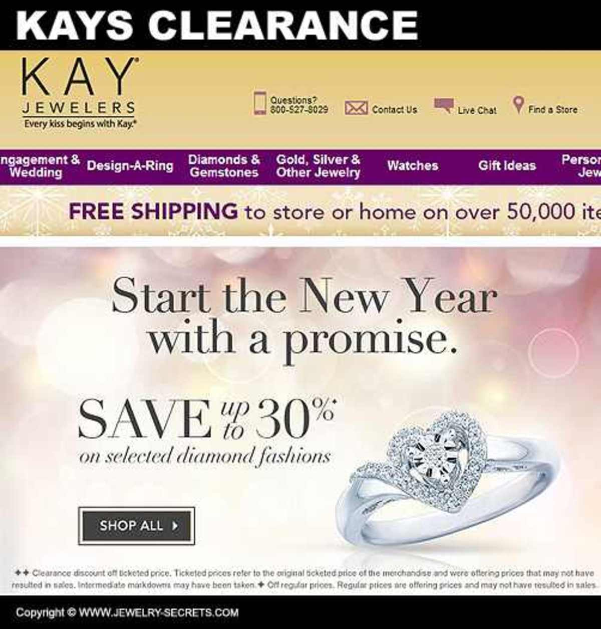 KAY JEWELERS (CLEARANCE)