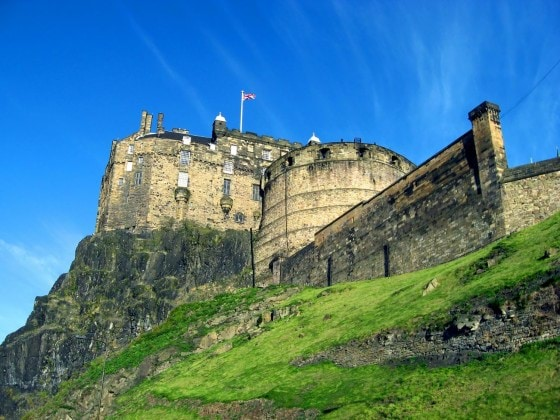 beautiful edinburg's castle