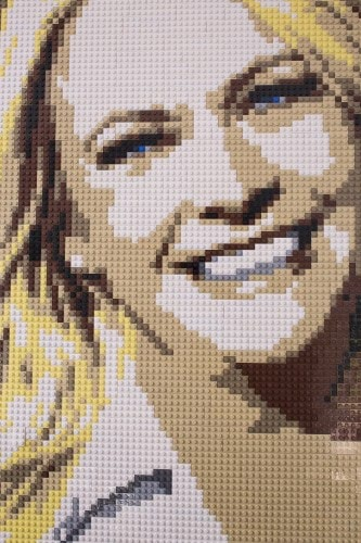 Melissa-Mark-prominently-hung-Lego-portrait-actress
