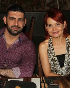 Richie Debs and Roula Abou Zeid