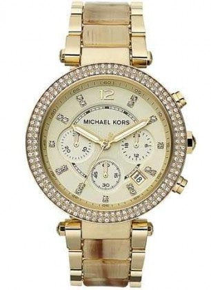 MICHAEL KORS WOMEN'S CHRONOGRAPH BRACELET WATCH, 38MM: