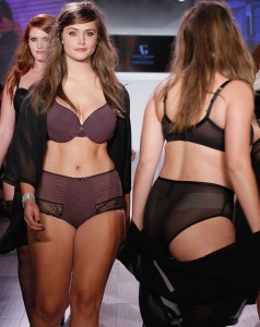 A-model-walks-the-runway-as-Addition-Elle-presents-FallHoliday-2015-RTW-and-Ashley-Graham-Lingerie-Collection (2)