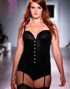A-model-walks-the-runway-as-Addition-Elle-presents-FallHoliday-2015-RTW-and-Ashley-Graham-Lingerie-Collection (3)
