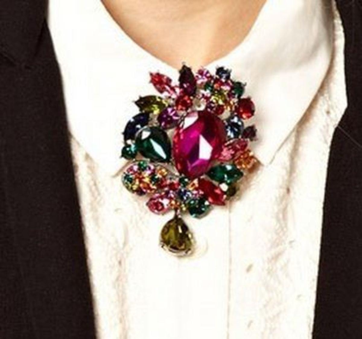Fashion-Vintage-Colorful-Shourouk-Gems-Crystal-Flower-Womans-Brooches-Pins-Suit-cute-big-Gift-Casual-Party
