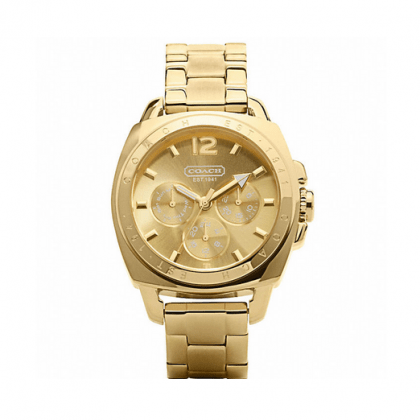 COACH BOYFRIEND BRACELET WATCH: