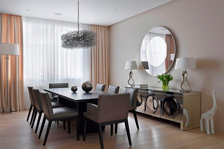 dining-room-wall-decor-with-mirror-excellent-ideas-13-home-design