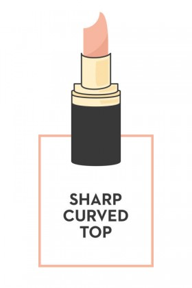 SHARP CURVED TOP