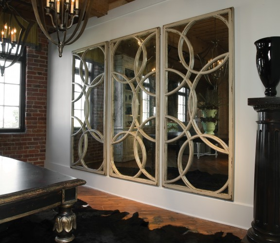 interior-the-best-choice-of-the-large-wall-mirror-with-metal-decorative-detail-shaped-as-round-in-white-detail-enchanting-modern-cool-inspirations-of-the-large-wall-mirrors
