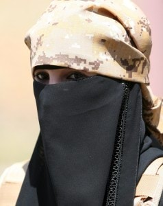 A fighter of the Popular Resistance Committees attends a graduation ceremony of the affiliate special forces of the Popular Resistance, in Yemen's southwestern city of Taiz