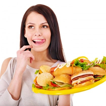 woman-sandwich-hamburger-food-diet