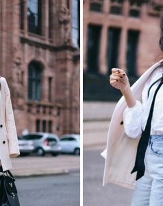 Reiss-pale-pink-double-breasted-blazer-forever-21-mom-jeans-skinny-scarf-trend-2015
