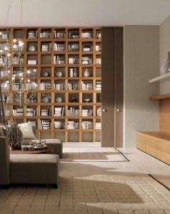 awesome-exciting-living-room-home-library