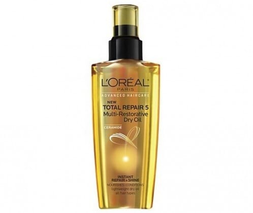 زيت L'OREAL TOTAL REPAIR 5 MULTI-RESTORATIVE DRY OIL
