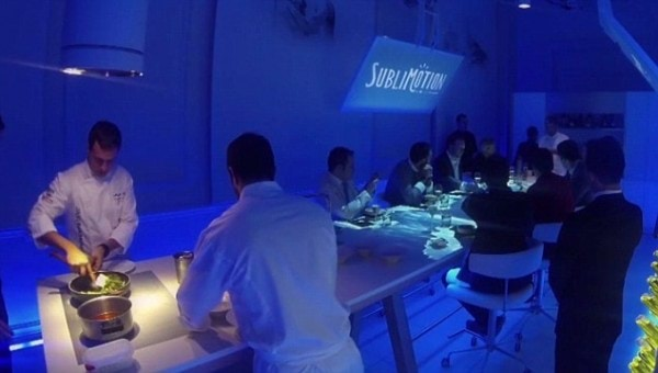 مطعم سابليموشن Sublimotion