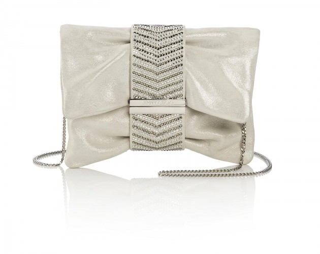 CHANDRA S - SHIMMER SUEDE WITH HERRINGBONE CRYSTAL HOTFIX BRACELET - MARBLE AED 4450