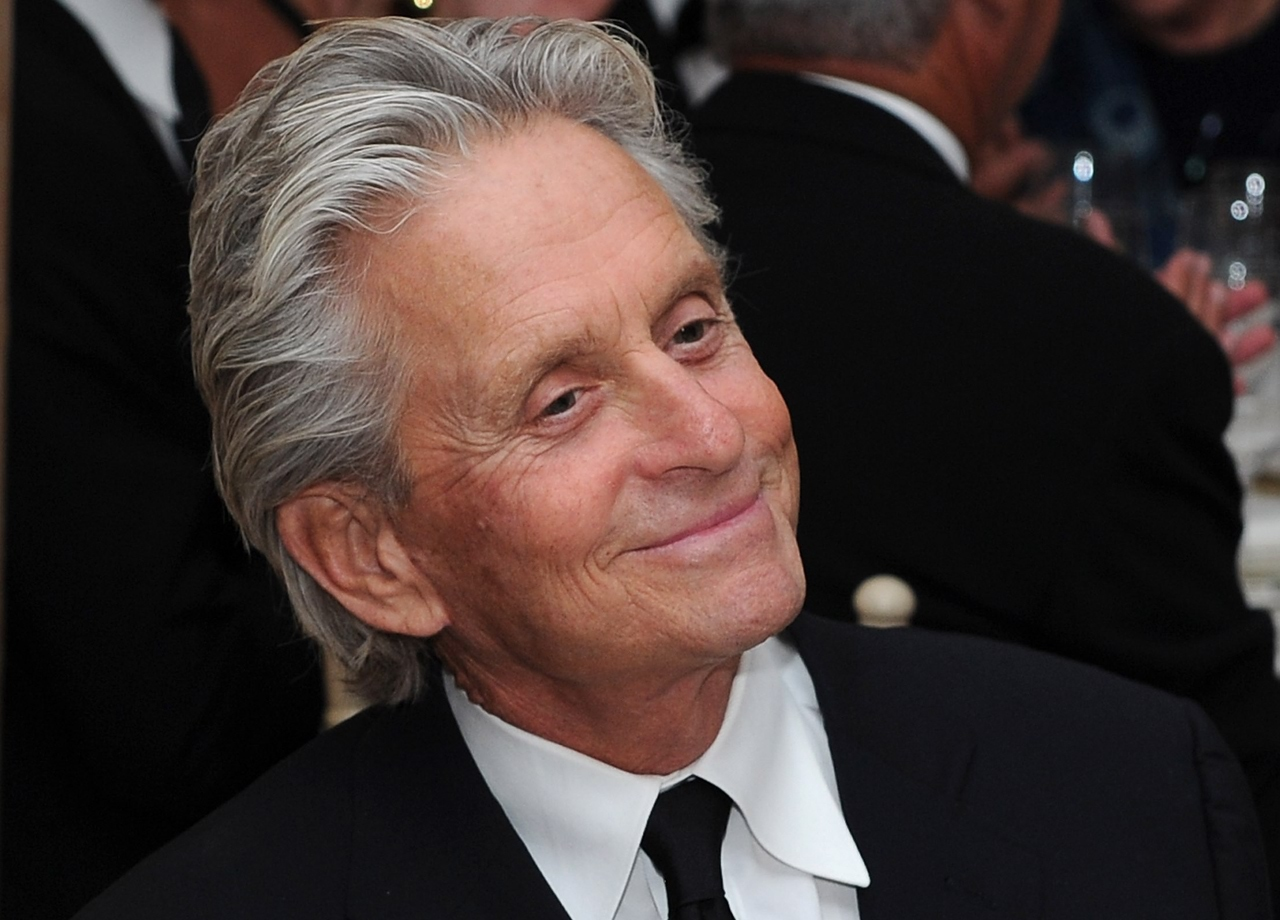 SANTA BARBARA, CA - OCTOBER 13: Actor Michael Douglas attends SBIFF's 2011 Kirk Douglas Award for Excellence In Film honoring Michael Douglas at the Biltmore Four Seasons on October 13, 2011 in Santa Barbara, California. (Photo by Michael Buckner/Getty Images)