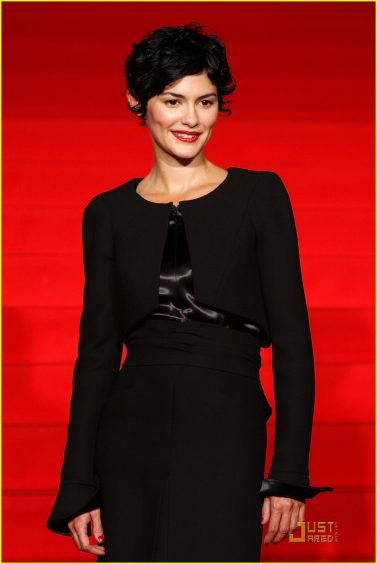 """TOKYO – SEPTEMBER 07:  Actress Audrey Tautou attends the """"Coco Avant Chanel"""" Japan Premiere at Roppongi Hills on September 7, 2009 in Tokyo, Japan. The film will open on September 18 in Japan.  (Photo by Junko Kimura/Getty Images)"""