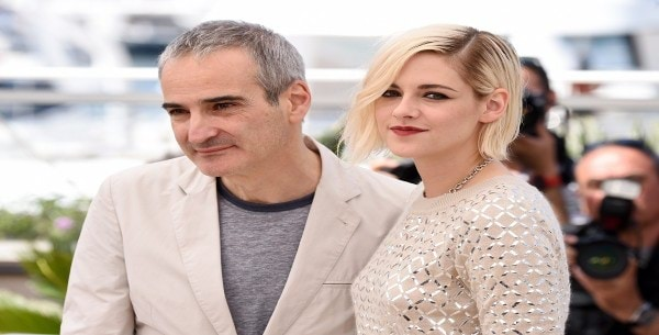 Mandatory Credit: Photo by David Fisher/REX/Shutterstock (5686555p) Olivier Assayas and Kristen Stewart 'Personal Shopper' photocall, 69th Cannes Film Festival, France - 17 May 2016