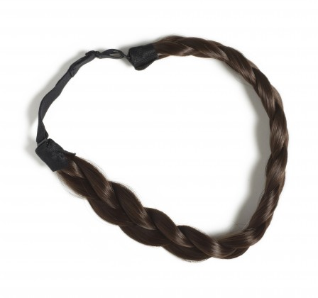 Hershesons Chunky Braided Headband