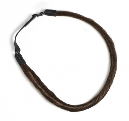 Hershesons Fishtail Braided headband