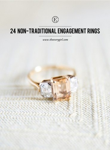 24-non-traditional-engagement-rings-the-everygirl