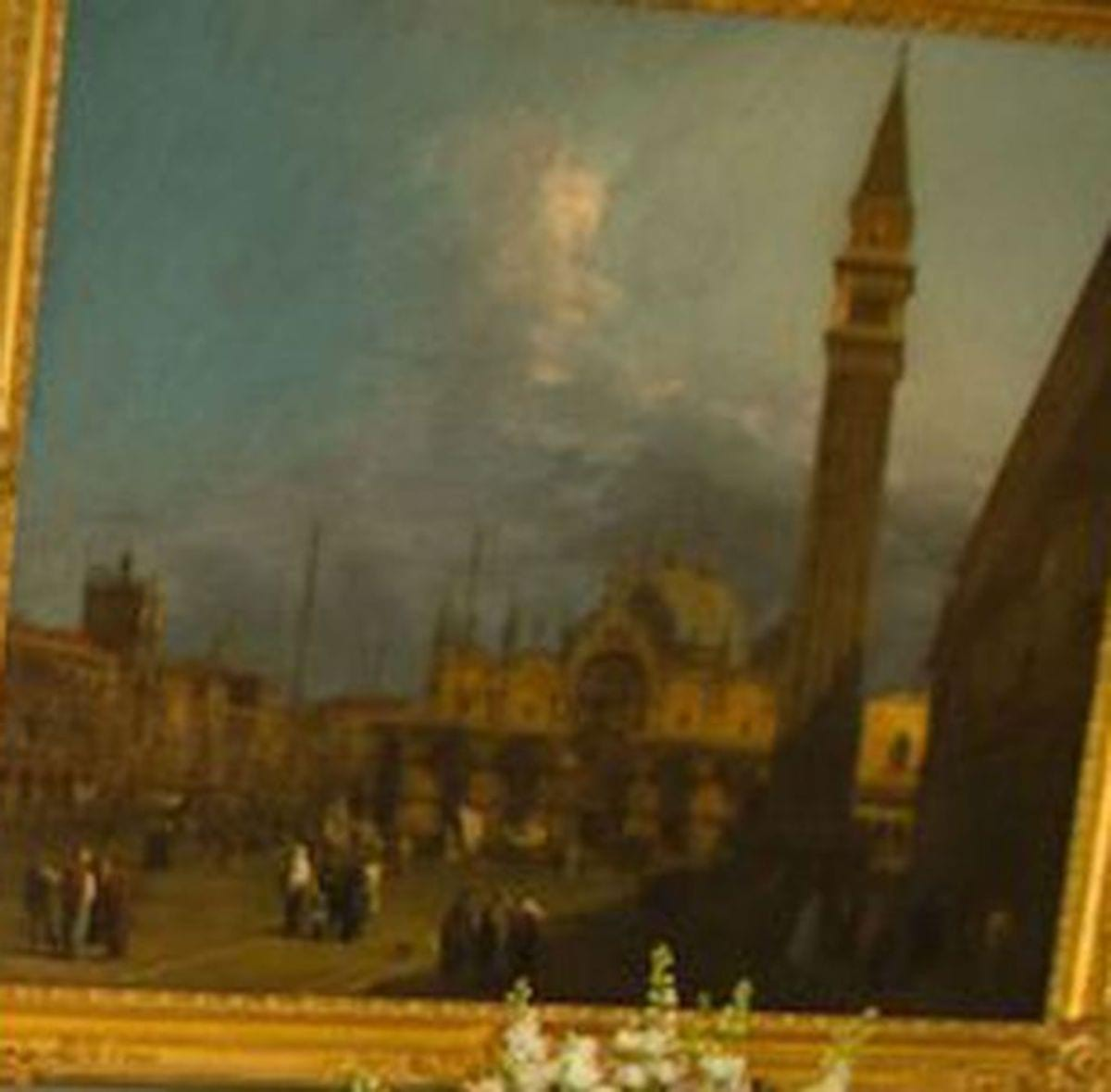 Another-Canaletto-painting-from-the-set-this-one-called-Venice-Piazza-S-Marco-with-the-Basilica-and-Campanile