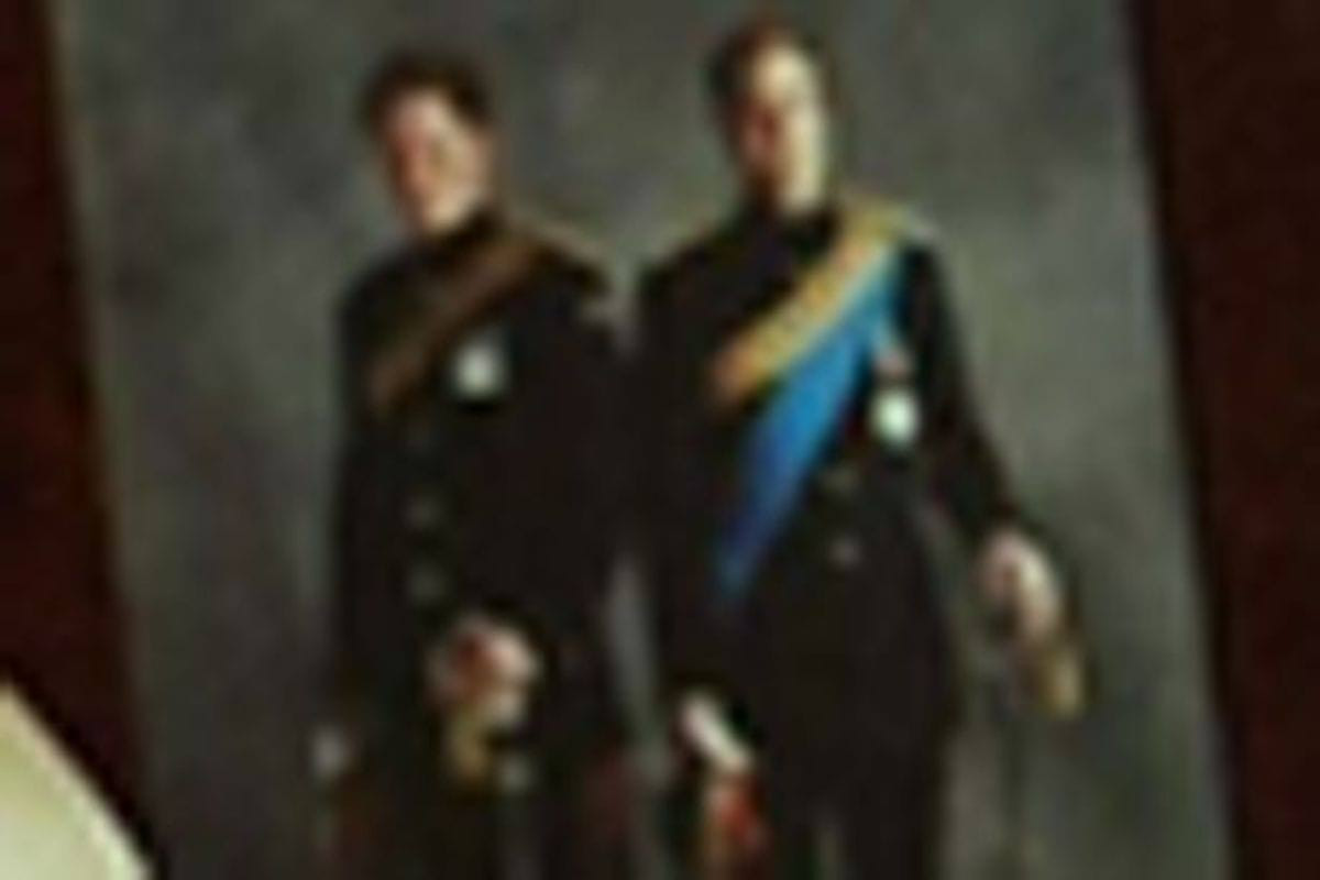 Wills-and-Harry-in-uniform