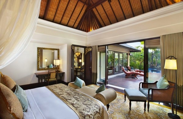 The St. Regis Bali - Lagoon Villa - Bedroom