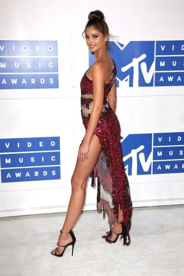 Mandatory Credit: Photo by REX/Shutterstock (5848760aj) Taylor Marie Hill 2016 MTV Video Music Awards, Arrivals, Madison Square Garden, New York, USA – 28 Aug 2016