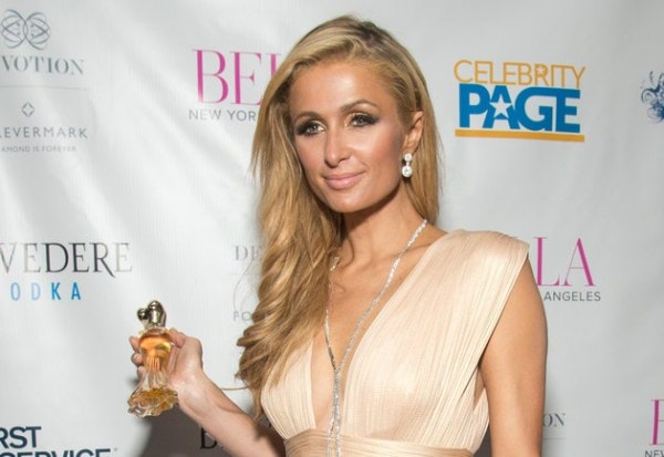 NEW YORK, NY - SEPTEMBER 13:  Paris Hilton, with Paris Hilton Gold Rush Eau de Parfum, attends the BELLA New York September/October 2016 Cover Launch Party at Bagatelle on September 13, 2016 in New York City.  (Photo by Mark Sagliocco/Getty Images)