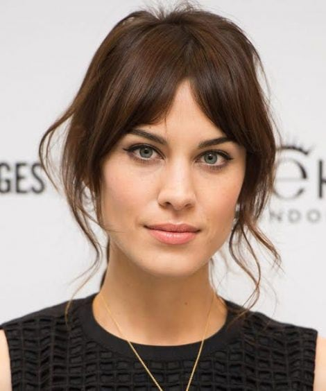 LONDON, ENGLAND – NOVEMBER 14:  Alexa Chung attends a photocall to Launch her new make up collection in collaboration with Eyeko at Selfridges on November 14, 2013 in London, England.  (Photo by Ian Gavan/Getty Images)