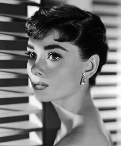 LOS ANGELES – 1954:  Actress Audrey Hepburn poses for a publicity still for the Paramount Pictures film 'Sabrina' in 1954 in Los Angeles, California. (Photo by Donaldson Collection/Michael Ochs Archives/Getty Images)