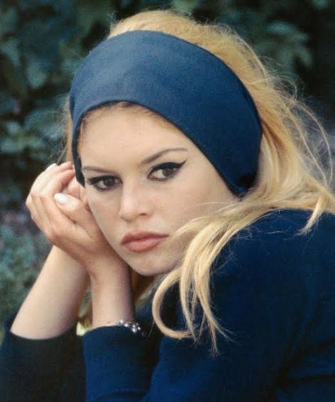 French actress Brigitte Bardot starring in Jean-Luc Godard's film 'Le Mepris', aka Contempt, 1963.  (Photo by RDA/Getty Images)