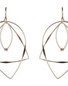 Accessorize Delicate Shapes Drop Earring_AED45