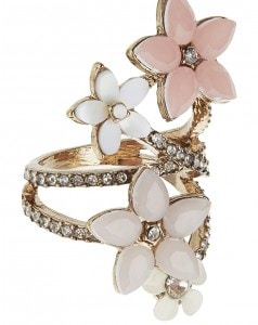 Accessorize Flower Bouquet Ring_AED129
