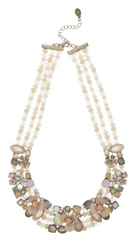 Accessorize Miya Floral Statement Necklace_AED189_