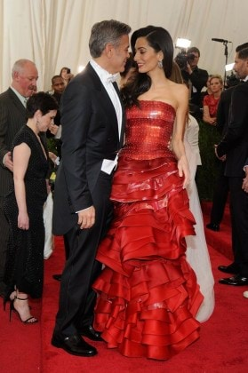 Amal-confidently-pulled-off-fiery-red-Maison-Margiela-gown-John