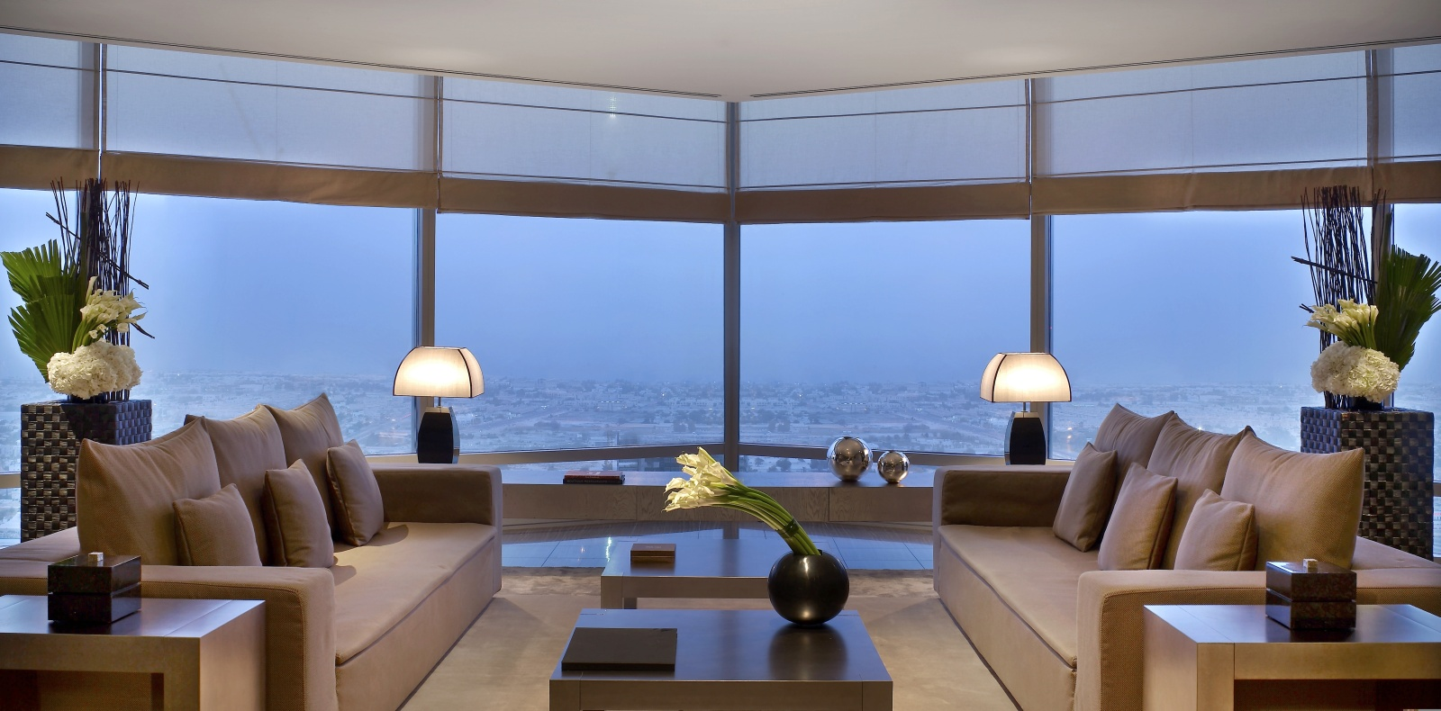 24. armani dubai suite - living room 2