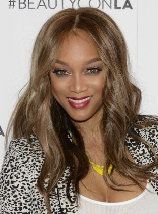 WEST HOLLYWOOD, CA - JULY 08: Entrepreneur and model Tyra Banks at Beautycon Media hosts Tyra Banks & TYRA Beauty for brunch - Los Angeles, CA at Sunset Tower Hotel on July 8, 2016 in West Hollywood, California. (Photo by Michael Bezjian/Getty Images for Beautycon)