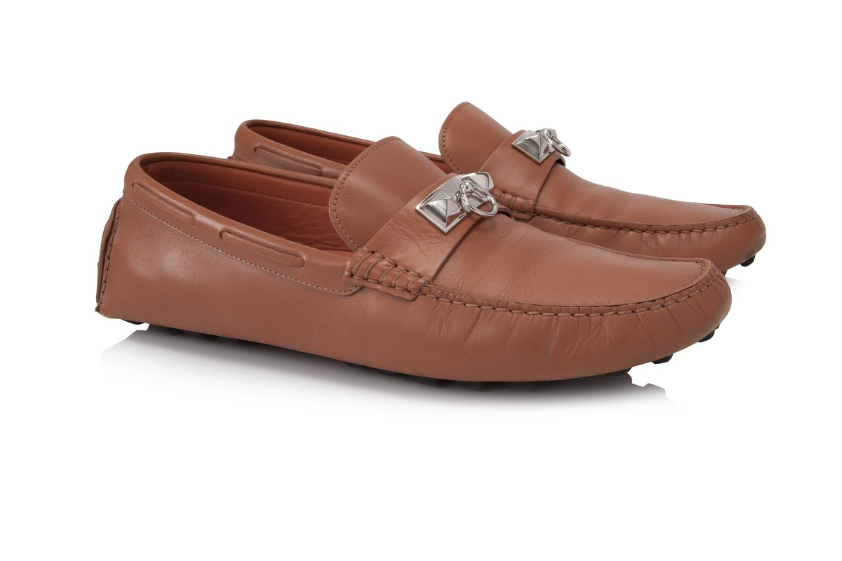 Hermès Irving Loafers AED3,387- Reebonz.ae