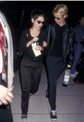 Winona Ryder and Gwyneth Paltrow, July 30, 1997