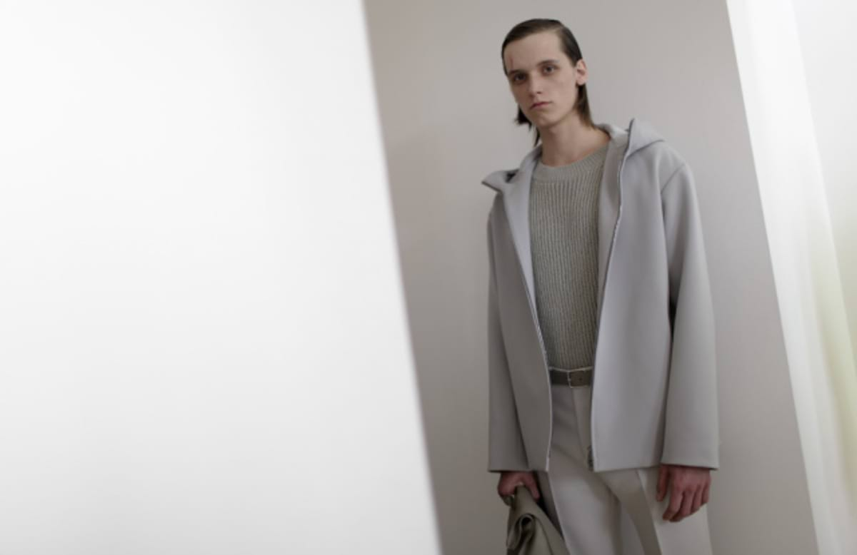 Backstage at Jil Sander Men's Spring 2016