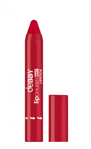 lipCHUBBY_MAT_03_DY LIPCHUBBY MAT N.3 STRONG RED_AED 36