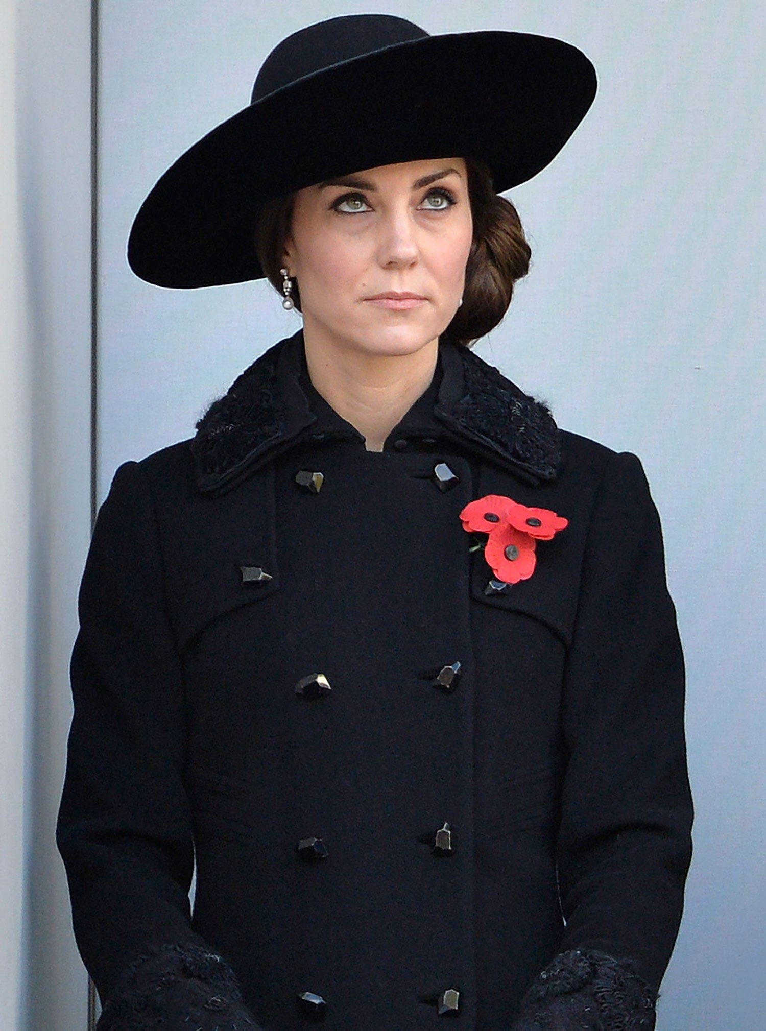 Members of the Royal Family attend Remembrance Sunday at the Cenotaph