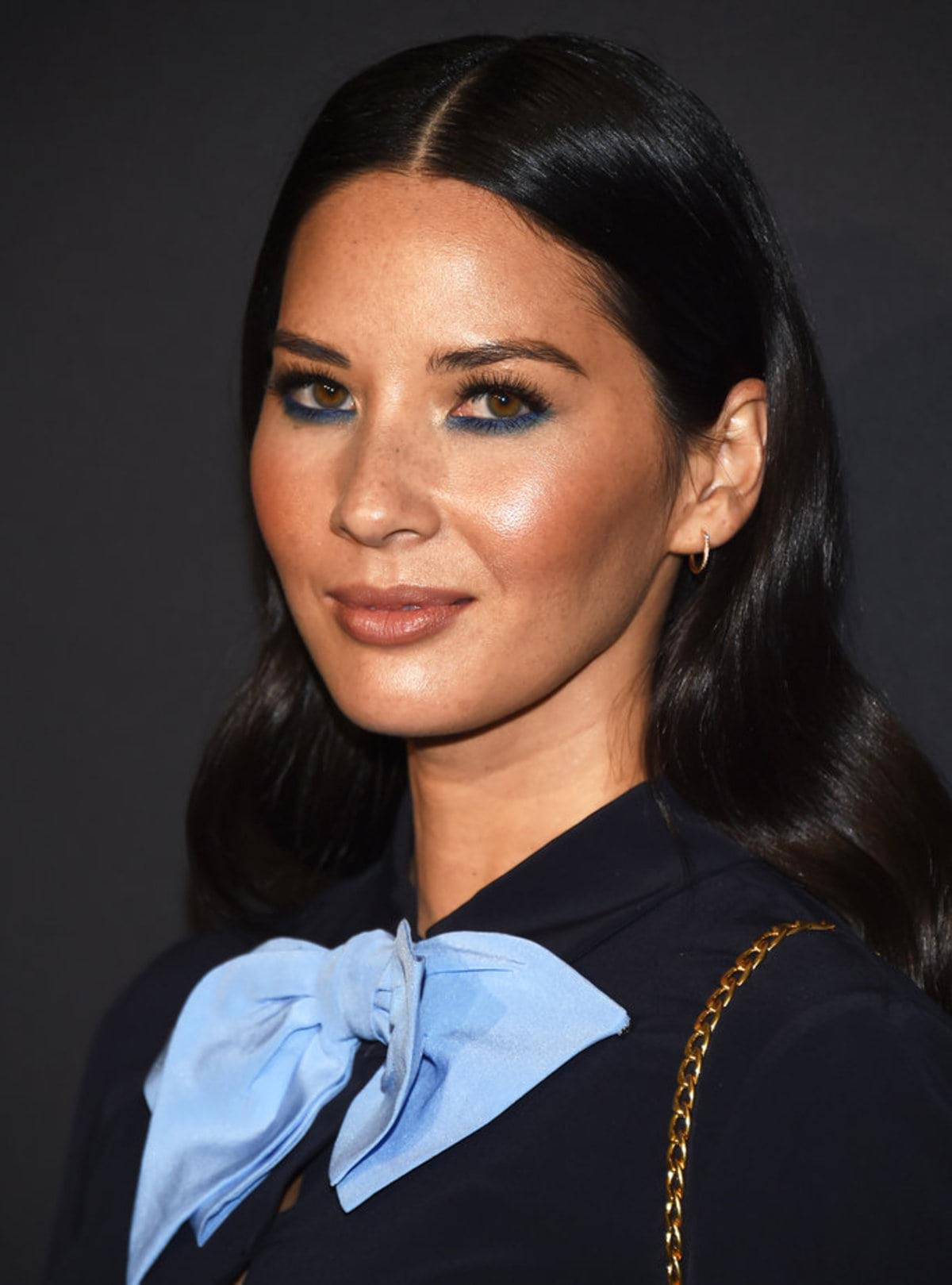 LOS ANGELES, CA - NOVEMBER 15: Actress Olivia Munn arrives at a screening of David O. Russell's 'Past Forward' hosted by Prada at Hauser Wirth & Schimmel on November 15, 2016 in Los Angeles, California. (Photo by Amanda Edwards/WireImage)