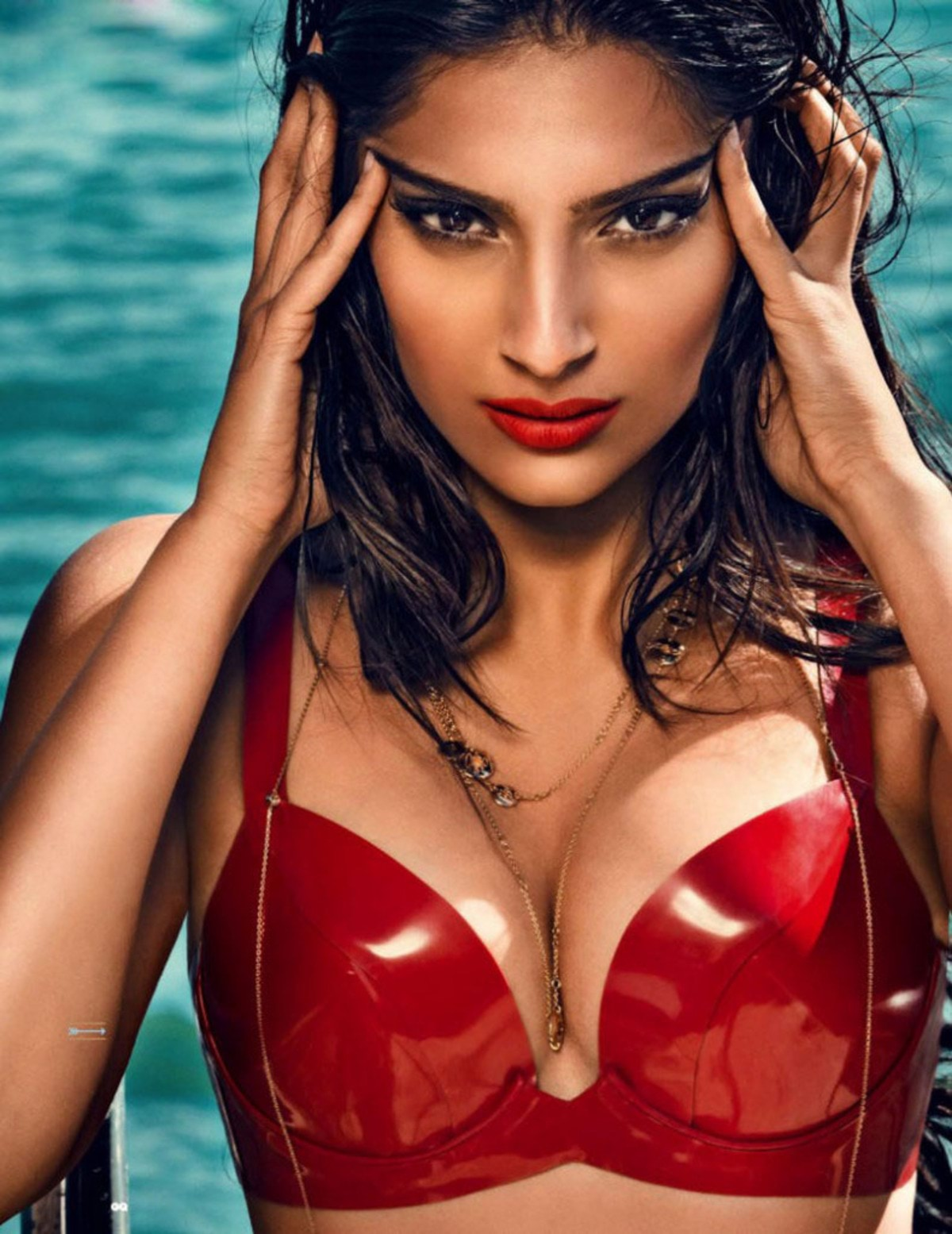 Sonam Kapoor GQ India Aug 2013 Magazine Hot Photoshoot