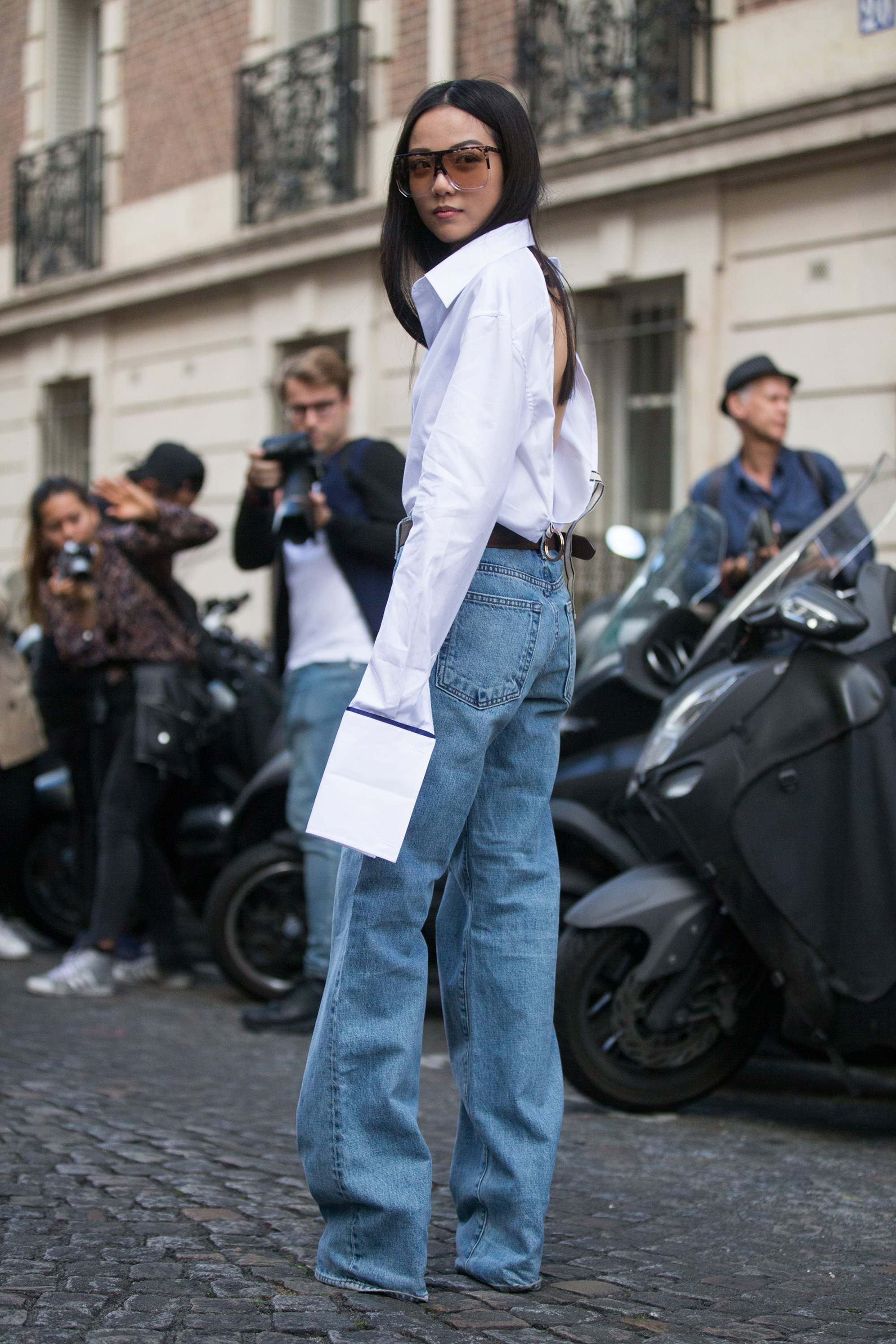 Street Style : Day Three Paris Fashion Week Spring/Summer 2017