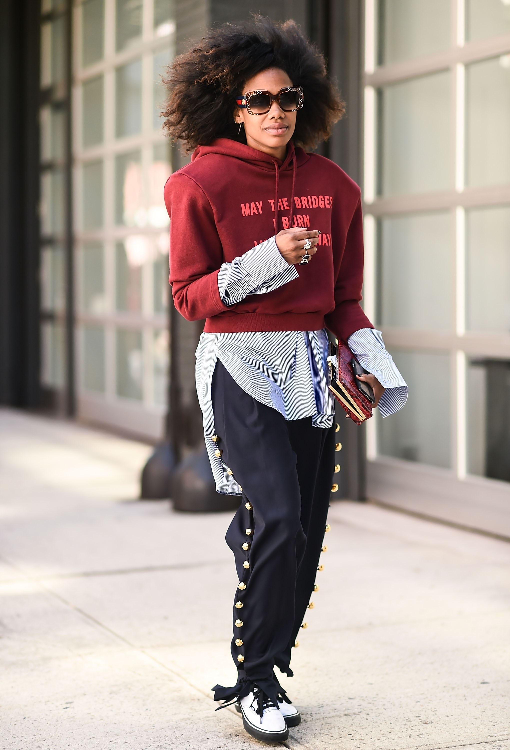 Street Style - September 2016 New York Fashion Week - Day 6