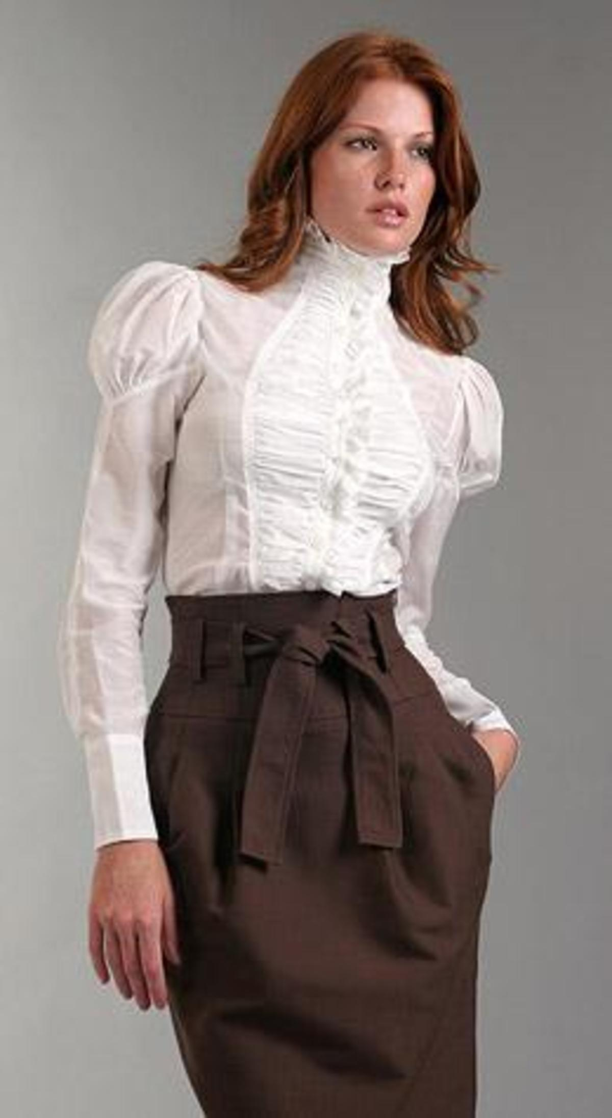 high-collar-blouse-02